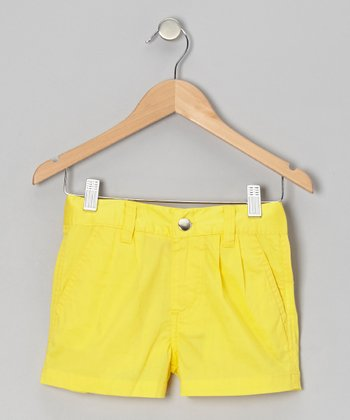 Lemon Light Shorts - Girls
