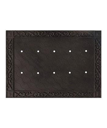 Scrollwork Doormat Frame Tray