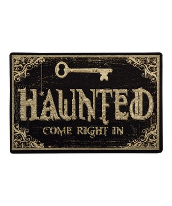 'Haunted' Home Doormat