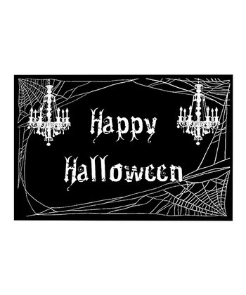 Candlelight Halloween Doormat