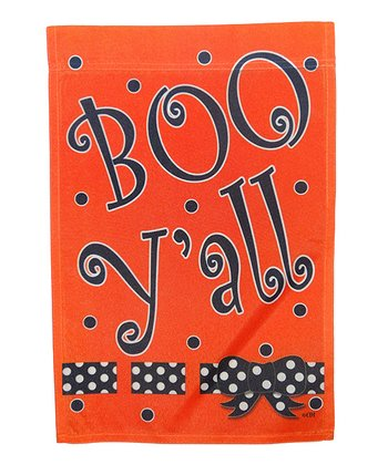 'Boo Y'all' Festive Halloween Flag