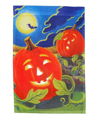 Happy Jack Halloween Garden Flag