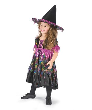 Purple Spider Witch Dress-Up Outfit - Infant & Toddler