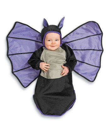 Black Bat Bunting Dress-Up Outfit - Infant