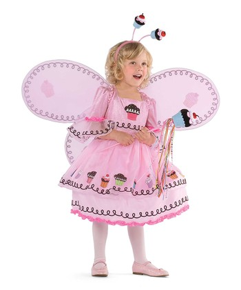 Pink Cupcake Fairy Dress - Toddler & Girls