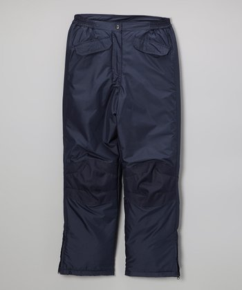 Navy Classic Pants - Kids
