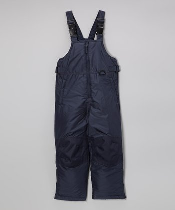 Navy Classic Bib Pants - Toddler & Kids