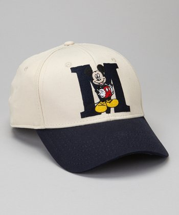 Navy Mickey Mouse Baseball Cap - Boys