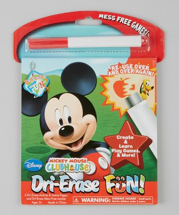 Mickey Mouse Clubhouse Dry-Erase Fun Set