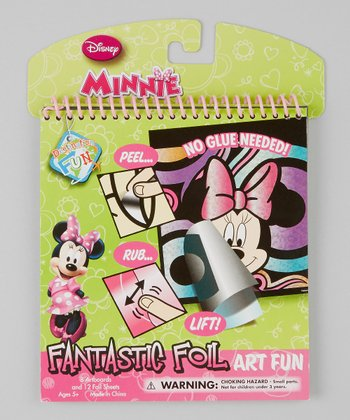 Minnie Fantastic Foil Art Fun Set