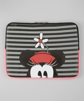 Gray & Black Minnie Mouse Sleeve