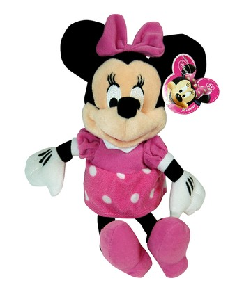 Pink Minnie Plush Toy