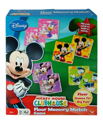Mickey Floor Memory Match Game