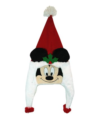Mickey Critter Head Christmas Hat