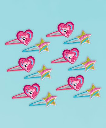 My Little Pony Hair Clip Favor Set