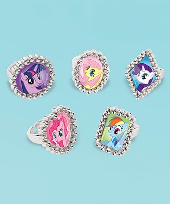 My Little Pony Jewel Ring Set