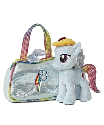 Rainbow Dash Purse & Plush Toy