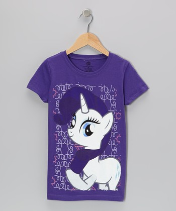 Purple Rarity My Little Pony Tee - Girls