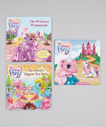 My Little Pony Paperback Set #4