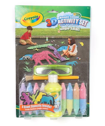 3-D Chalk Jungle Set