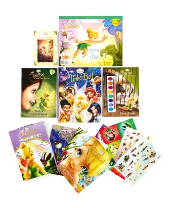 Tinker Bell Activity & Paperback Set