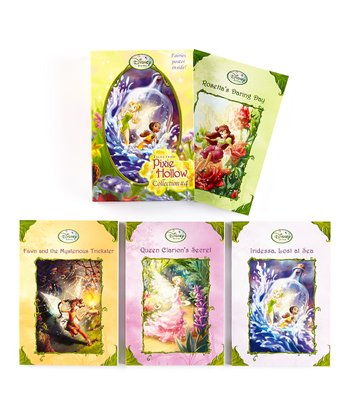 Tales from Pixie Hollow Collection 4 Paperback Box Set