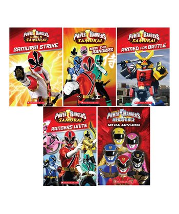 Power Rangers Reader Paperback Set