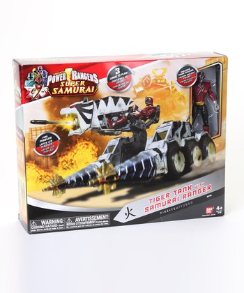Power Rangers Tiger Zord Set