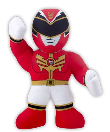 Red Power Rangers Battle Buddy Talking Plush