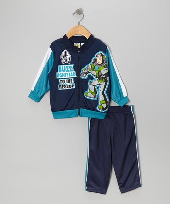 Blue Buzz Lightyear 'To the Rescue' Jacket & Pants - Infant