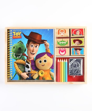 Toy Story Wooden Stamp Set