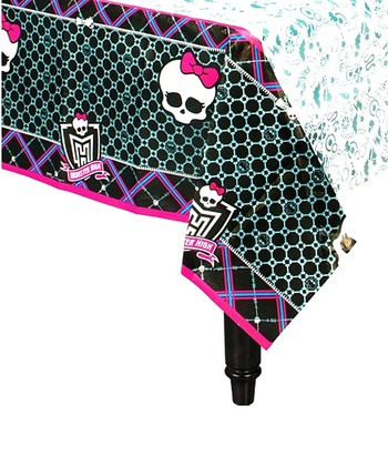 Monster High Paper Tablecloth