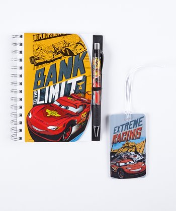 Cars Notebook & Pen Set