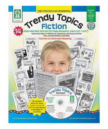 Trendy Topics: Fiction Paperback & CD