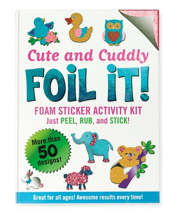Cute & Cuddly Foil It! Activity Book