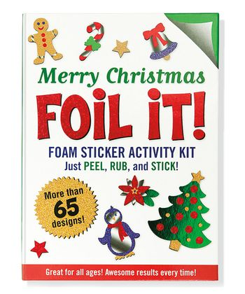 Merry Christmas Foil It! Activity Book