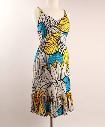 See You in Miami - Lush Garden Maternity Dress