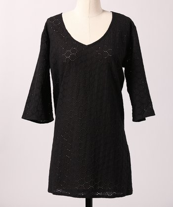 Black Cape Cod Tunic