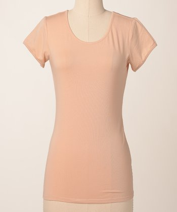 Toast Favorite Scoop Neck Tee