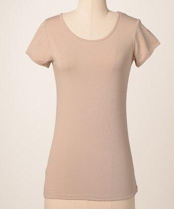 Hummus Favorite Scoop Neck Top