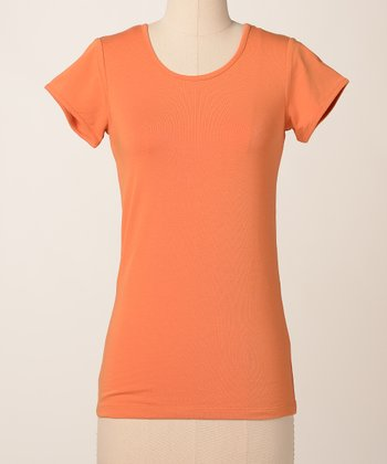 Topaz Favorite Scoop Neck Top