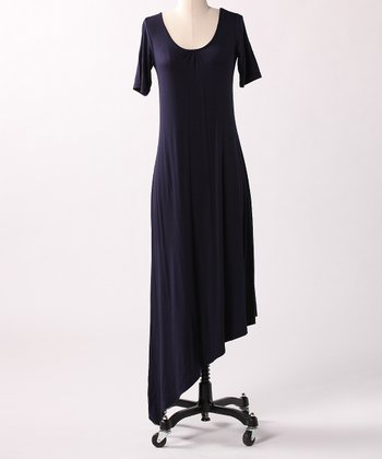 Navy Hidden Beach Maxi Dress