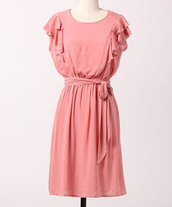 Rosette Spring Retreat Dress