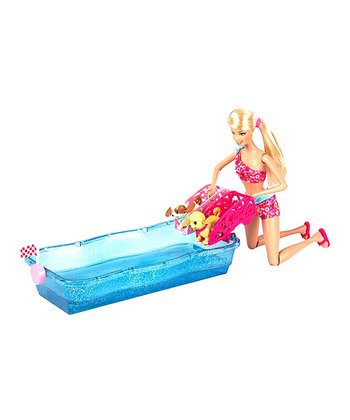 Barbie Swim & Race Pup Set