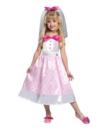 Rubie's Bride Barbie Dress-Up Set