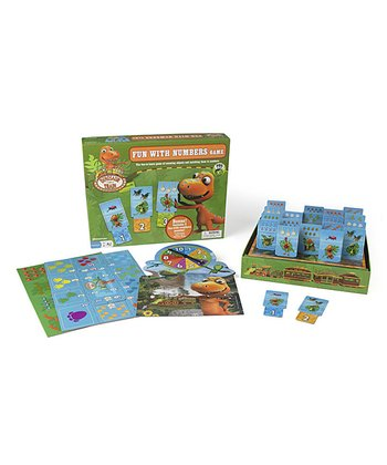 Dinosaur Train Fun With Numbers Board Game