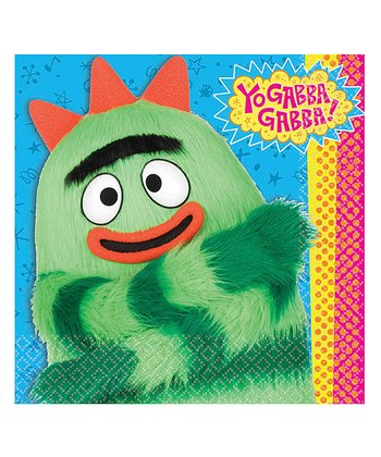 Yo Gabba Gabba! Dinner Napkin - Set of 32