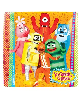 Yo Gabba Gabba! Dinner Plate - Set of 16