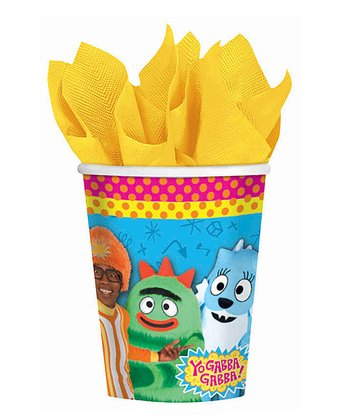 Yo Gabba Gabba! Cup - Set of 16