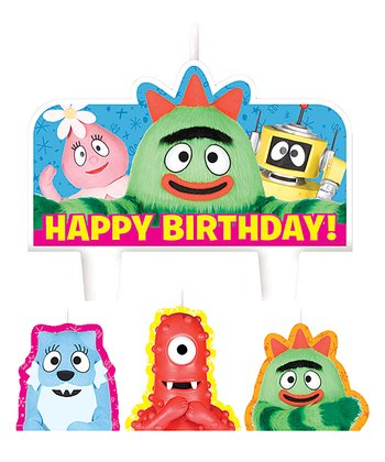 Yo Gabba Gabba! Birthday Cake Candle Set